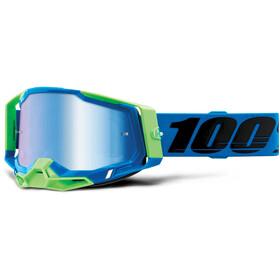 100% Racecraft Anti-Fog Goggles Gen2, azul